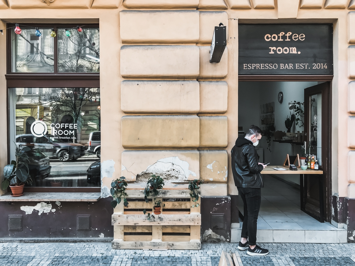 COFFEE ROOM | Prague Coffee Guide